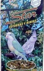 Star Cotorras y Ninfas Bol. 800 gr.